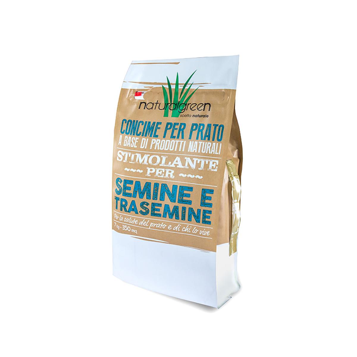 BOTTOS CONCIME NATURALGREEN STIMOLANTE PER SEMINE E TRASEMINE 10-18-10 KG 7